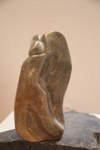 pr Anne-Geneviève Pruvost-Icare-stéatite et marbre noir (3)